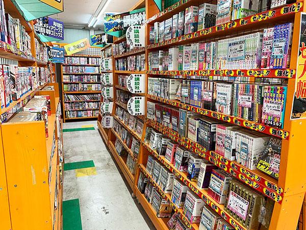 漫画・一般書籍・本コーナー4