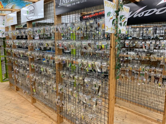 釣具売り場