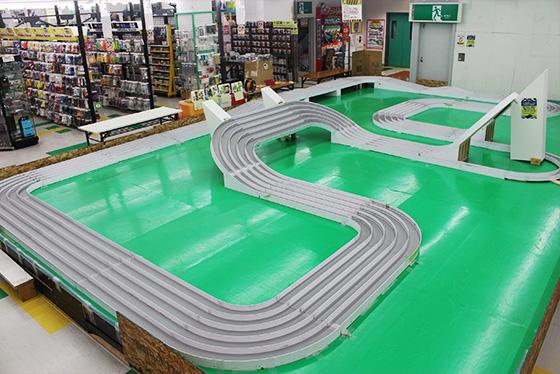 ミニ四駆5レーンコース